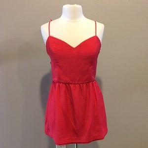 Bebe Coral Dress